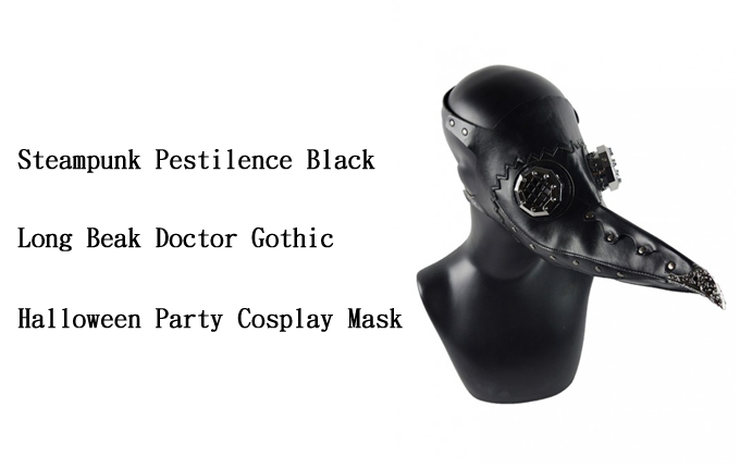 Gothic Halloween Party Mask