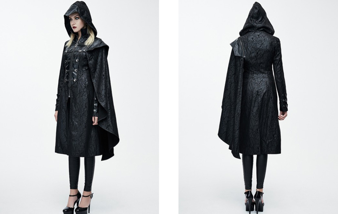 Steampunk Gothic Coat