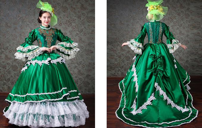 Lolita Prom Long Trailing Dress