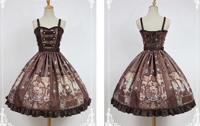 Steampunk Lolita JSK