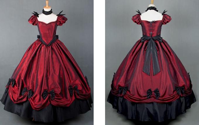 Gothic Lolita Prom Long Dress