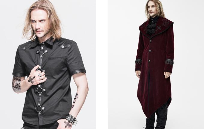Dovetail Gothic Men Long Coat
