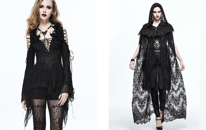 Gothic Halloween Black