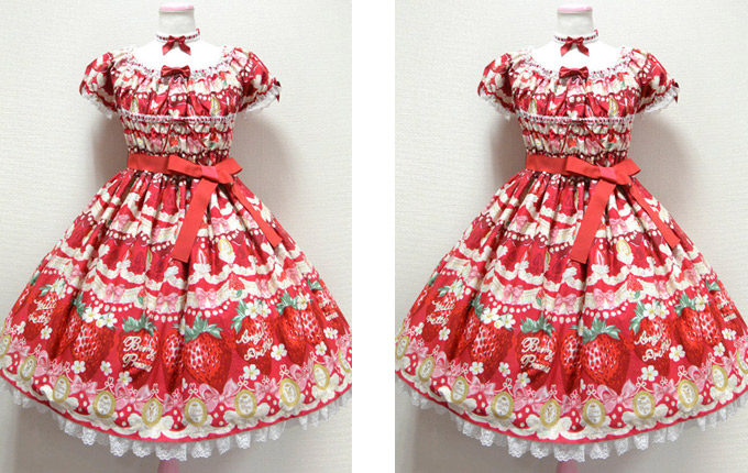 Sweet Lolita Short Sleeve Dress