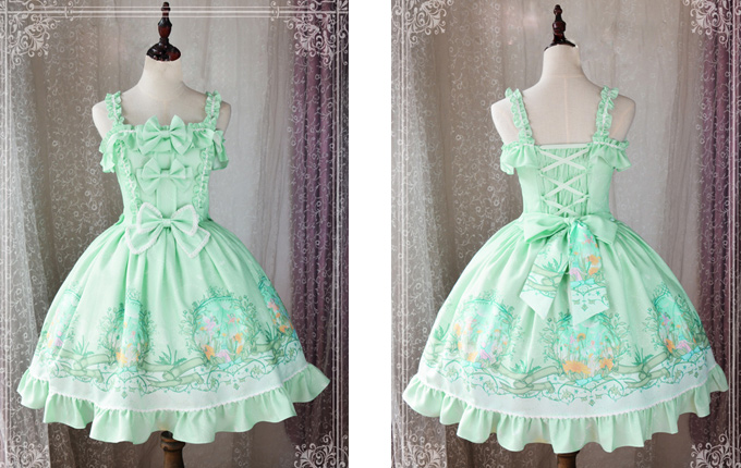 Bowknot Lolita Sling Dress