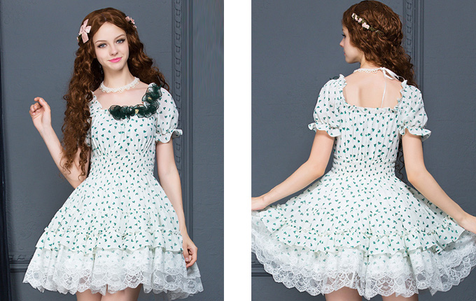 Lolita Short Sleeve Dress