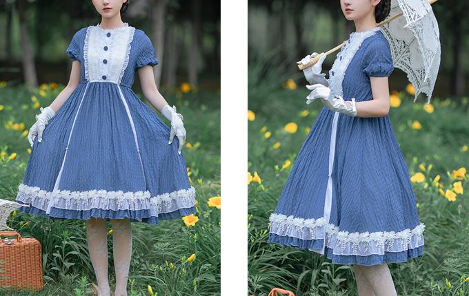 Classic Lolita Short Sleeve Dress