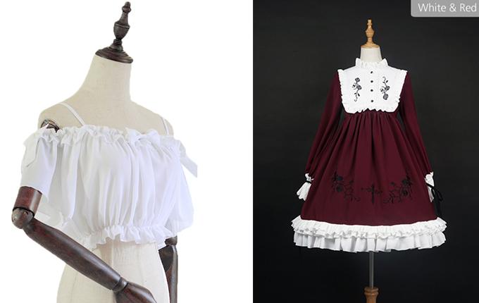 Gothic Lolita Long Sleeve dress