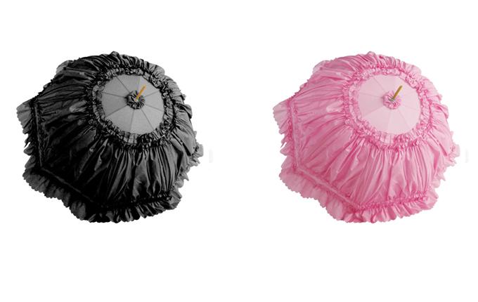 Classic Lolita Long Handle Sunshade Umbrella