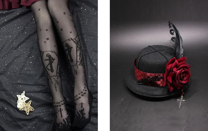 gothic Lolita Small Hat