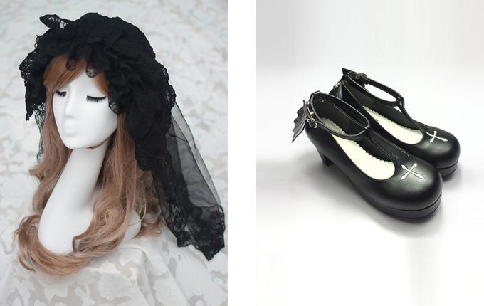 Gothic Lolita Heels Shoes