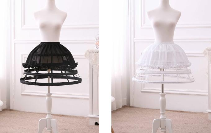 Birdcage Style Skirt Brace