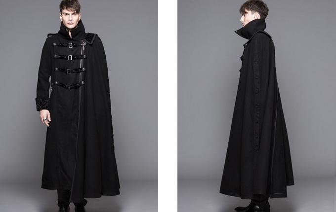 Thickened Men's Long Coat