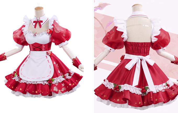 Sweet Lolita Short Sleeve Puff Sleeve Dress
