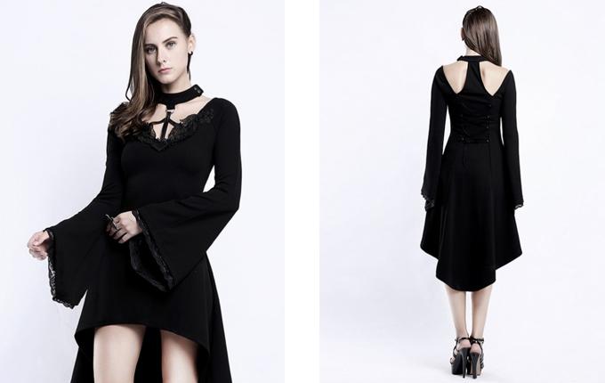 Black Medium Length Dress