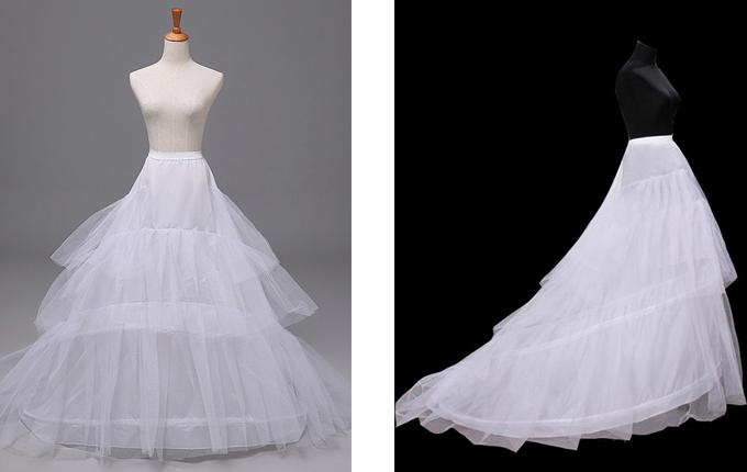 Trailing Style Petticoat