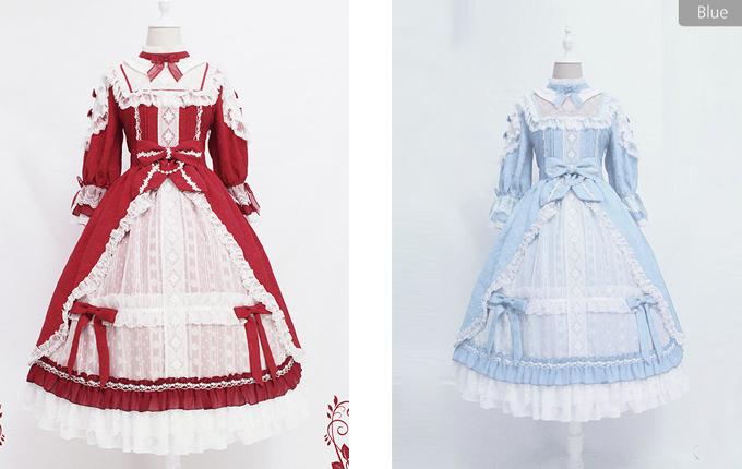 Classic Lolita Half Sleeve Dress
