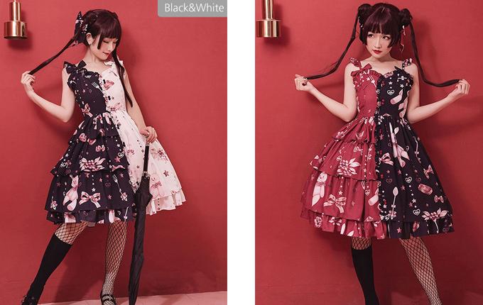 Chinese Style Sweet Lolita Sling Dress