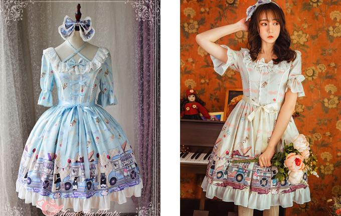 Short Sleeve Sweet Lolita Dress