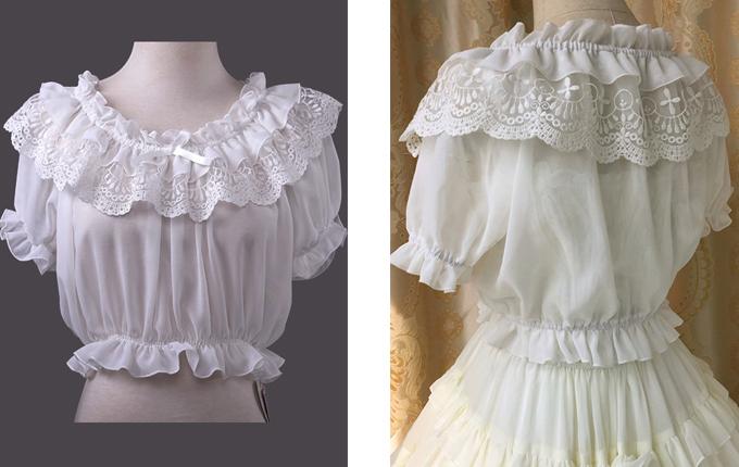 Lolita Short Shirt
